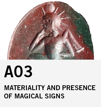 A03: Materiality and Presence of Magical Signs between Antiquity and the Middle Ages