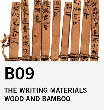 B09: Bamboo and Wood as Writing Materials in Early China