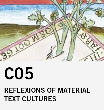 C05: Inscriptionality. Reflections of Material Text Culture in the Literature of the 12th to 17th Centuries